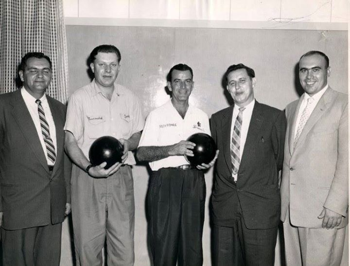 Photo of Skyway Lanes' Official Opening in 1957